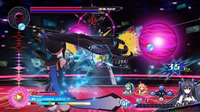 Neptunia Virtual Stars PS4 JRPG jeu de roles parodie bishojo tir jeu vidéo Noire