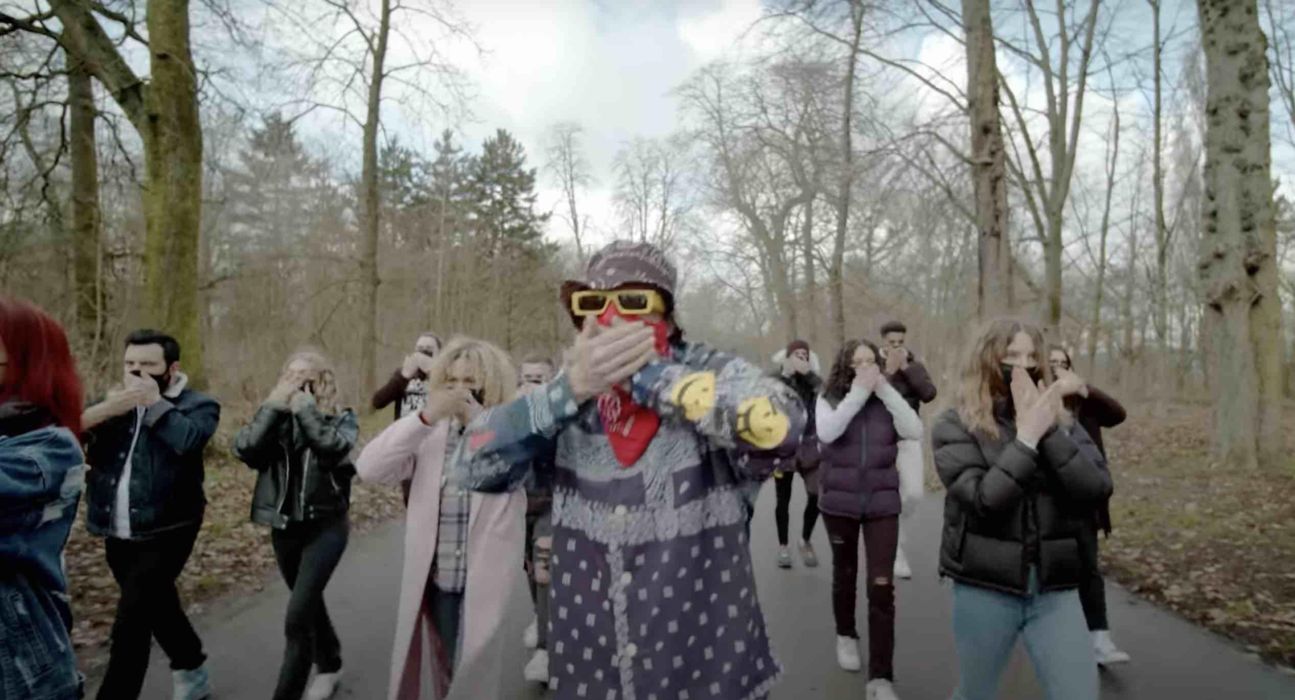 Helmut Fritz - PTNDCVD - Mask Song -
