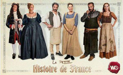 La petite histoire de France - W9 -
