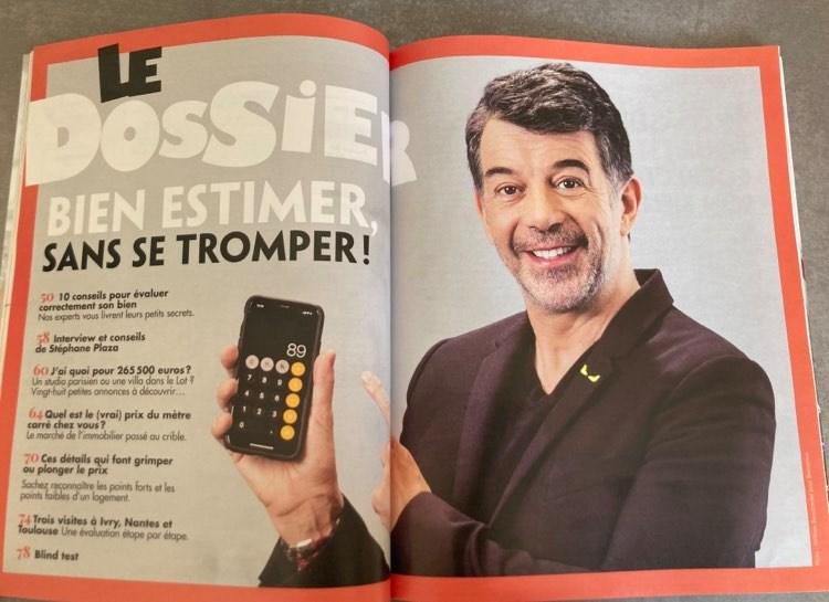 Stéphane Plaza - Bienvenue chez vous - magazine -