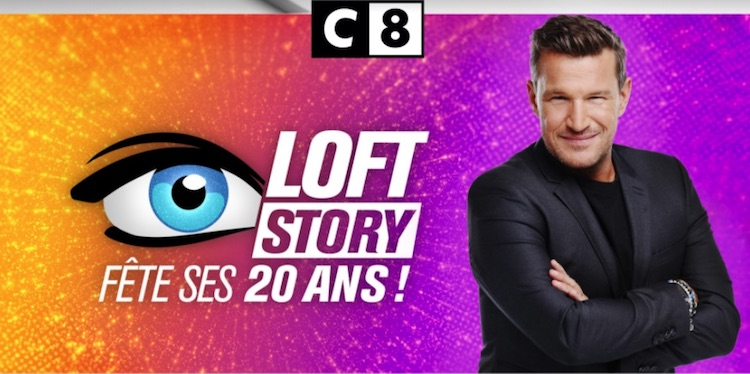 Loft Story - 20 ans - C8 - Benjamin Castaldi -
