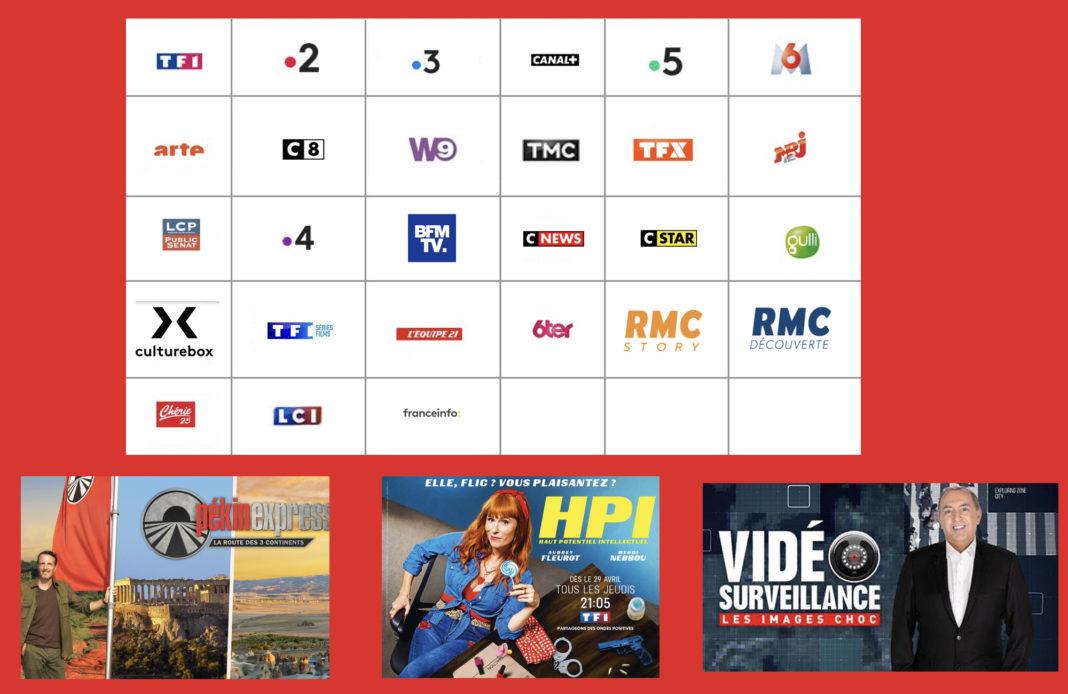 Programme TV - Sélection TV - Pékin Express - HPI - Vidéosurveillance -