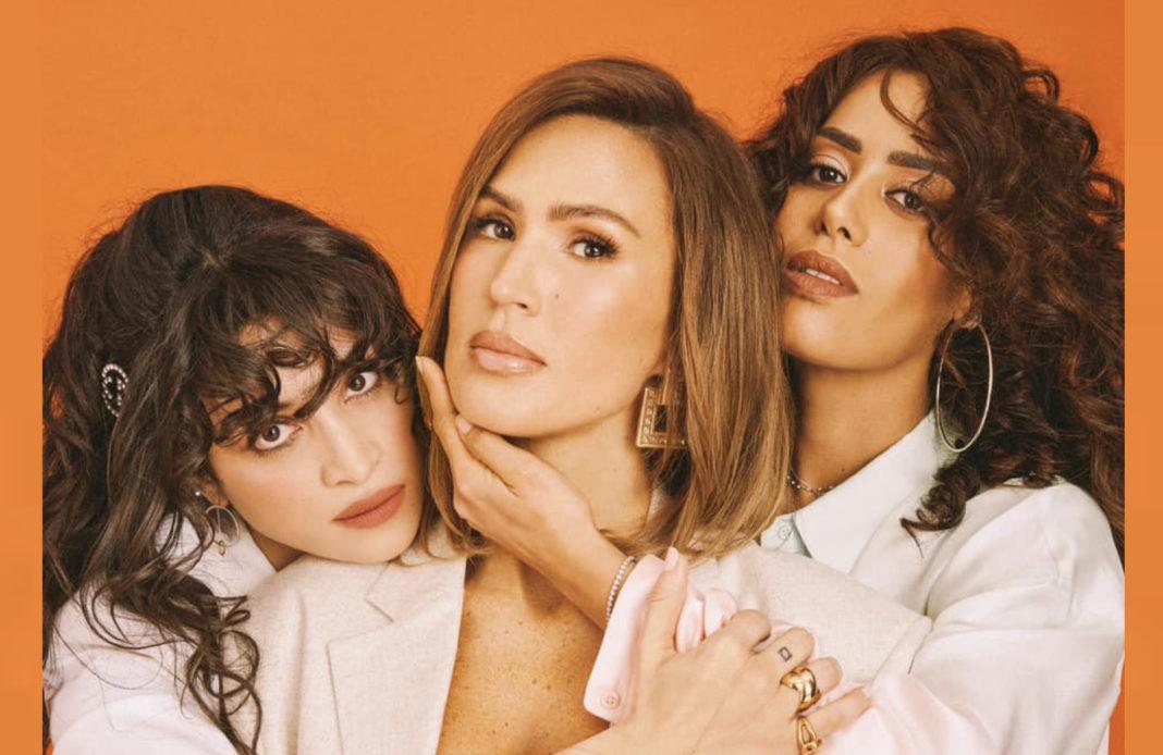 Amel Bent - Camelia Jordana - Vitaa - trio - reprise - Marine - Diam's -