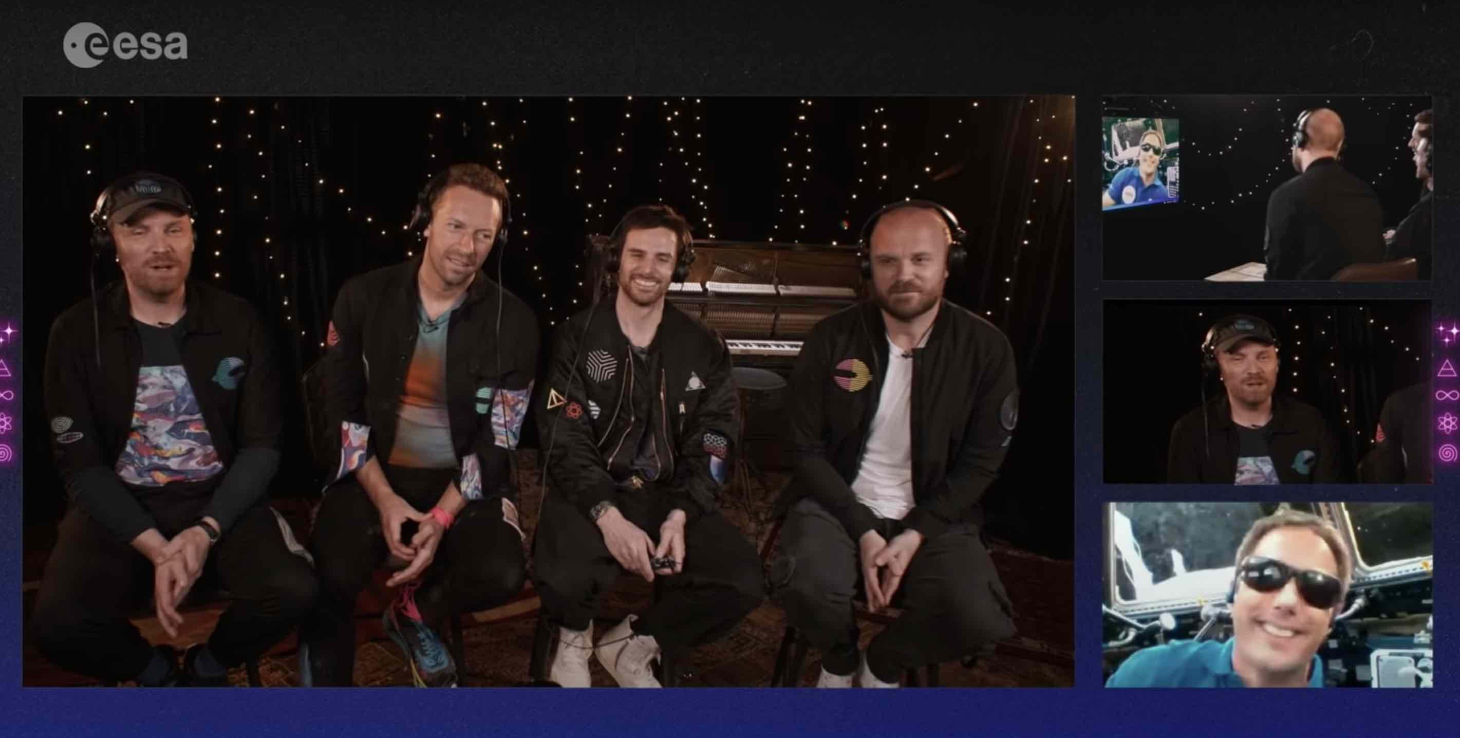 Coldplay - Higher Power - Thomas Pesquet -