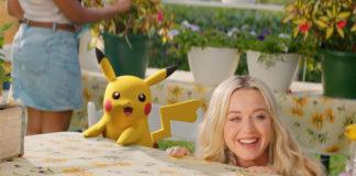 Katy Perry - Electric -25 ans Pokémon - Pikachu -