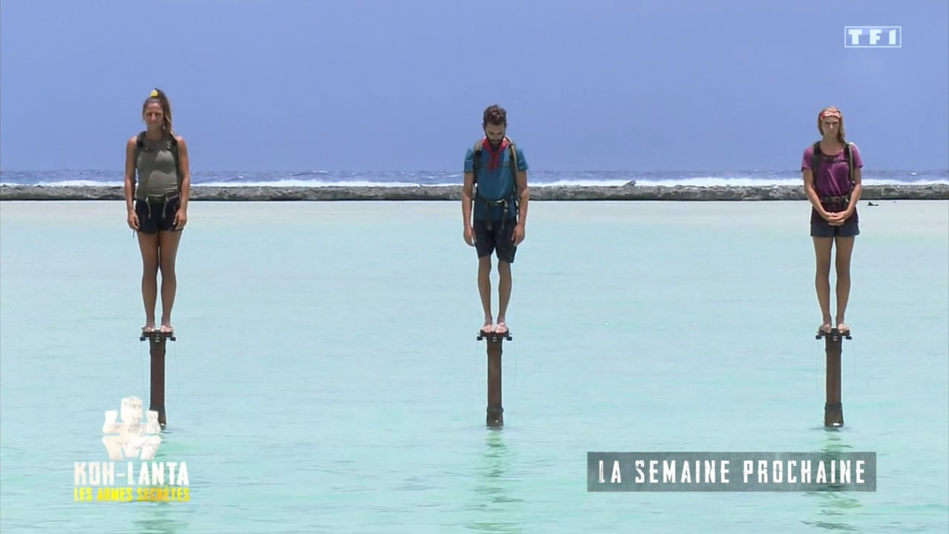 Koh Lanta les armes secrètes - finale - TF1 - maxine - Jonathan - Lucie -