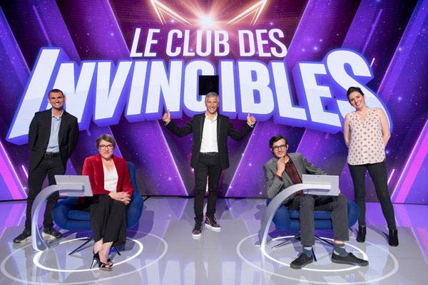 Le club des invincibles - France 2 - jeu tv - champions - Nagui -