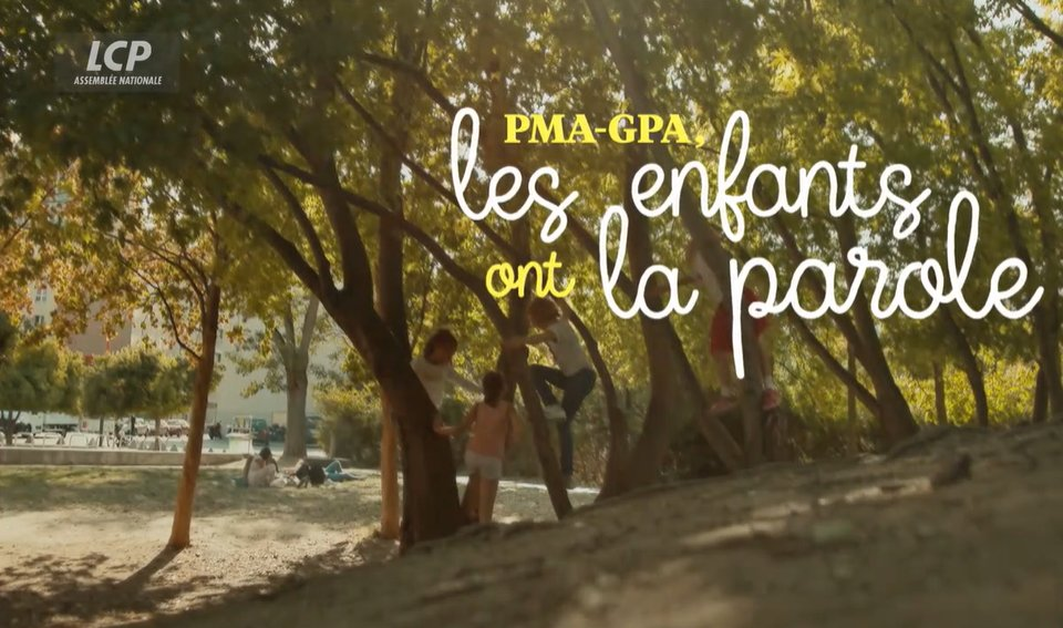 PMA GPA les enfants ont la parole - LCP -