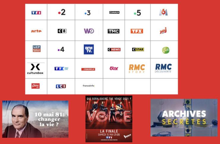 Programme TV - Sélection TV - François Mitterand - The Voice finale - Archives secrètes -