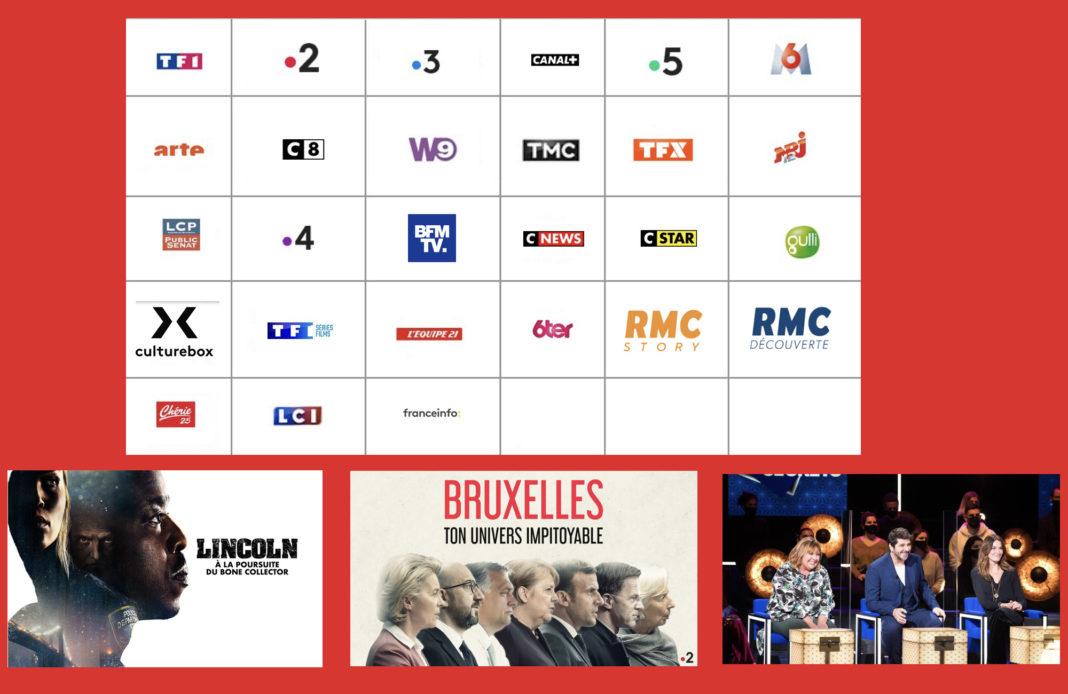 Programme TV - Sélection TV - 3 au 9 mai 2021 -
