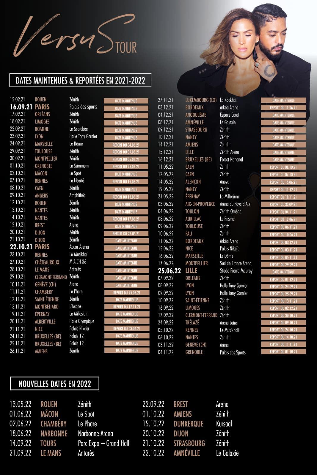 Vitaa Slimane - VersuS Tour - 2021 2022 -