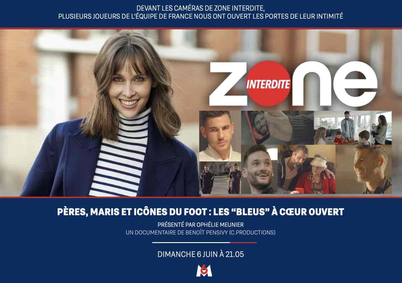 Zone interdite - M6 - footballeurs -