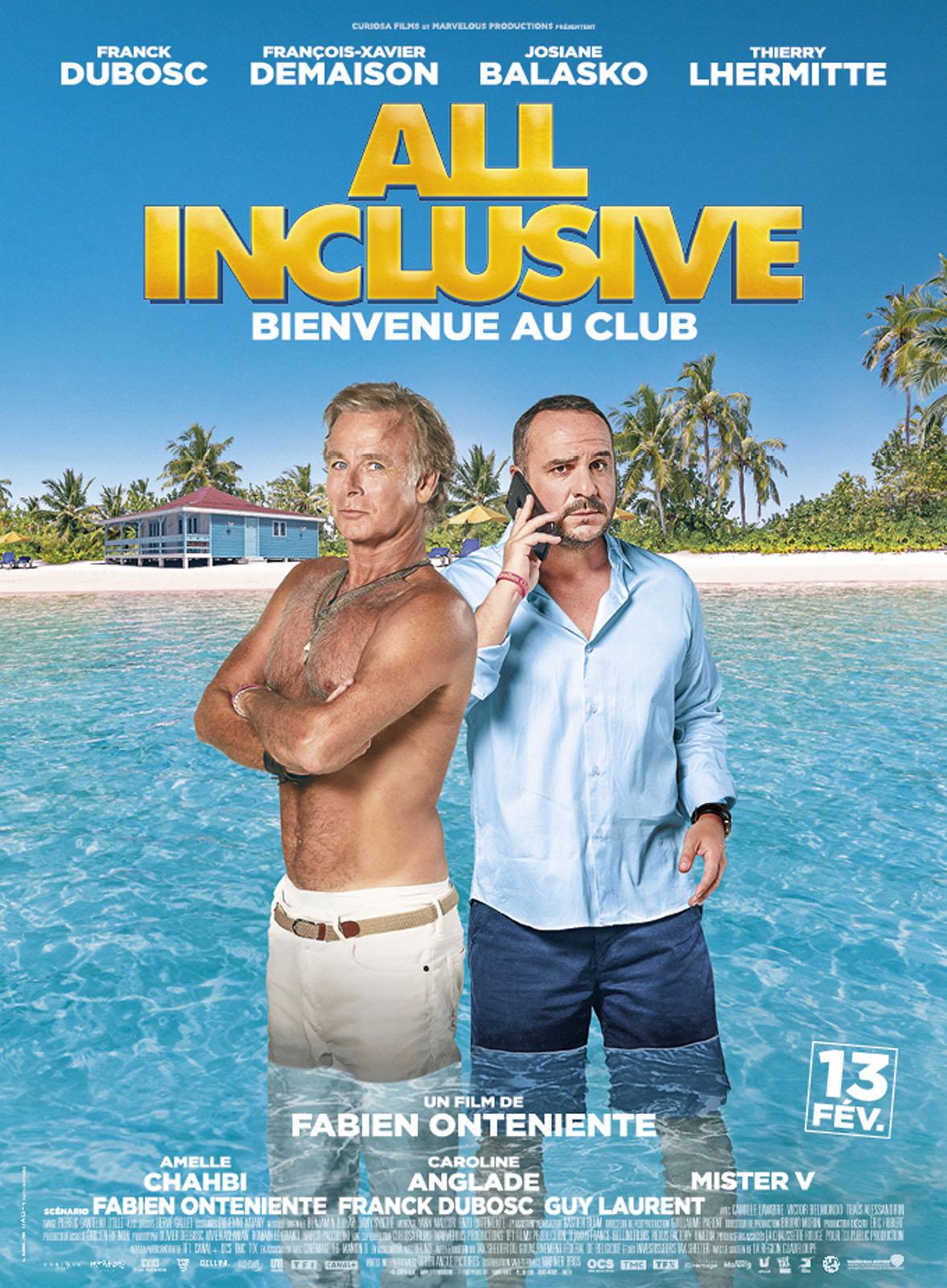 All Inclusive - TF1 - Franck Dubosc - Francçois Xavier Demaison - comédie -