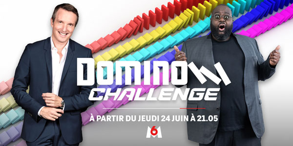 Domino Challenge - M6 - Stéphane Rotenberg - Issa Doumbia -