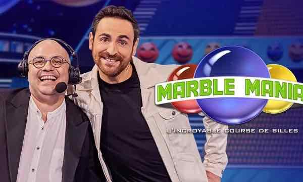 Marble Mania l'incroyable course de billes - TF1 - Camille Combal - Yoann Riou -