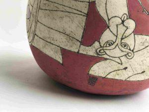 nina - khemchyan - rouge - red - sculpture - art - syma - gopikian florence