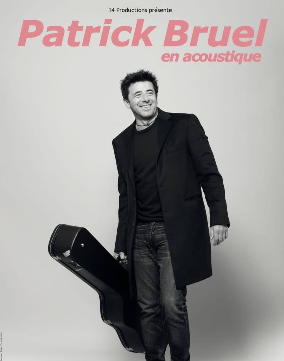 Patrick Bruel - Patrick Bruel en acoustique - concert - tournée -