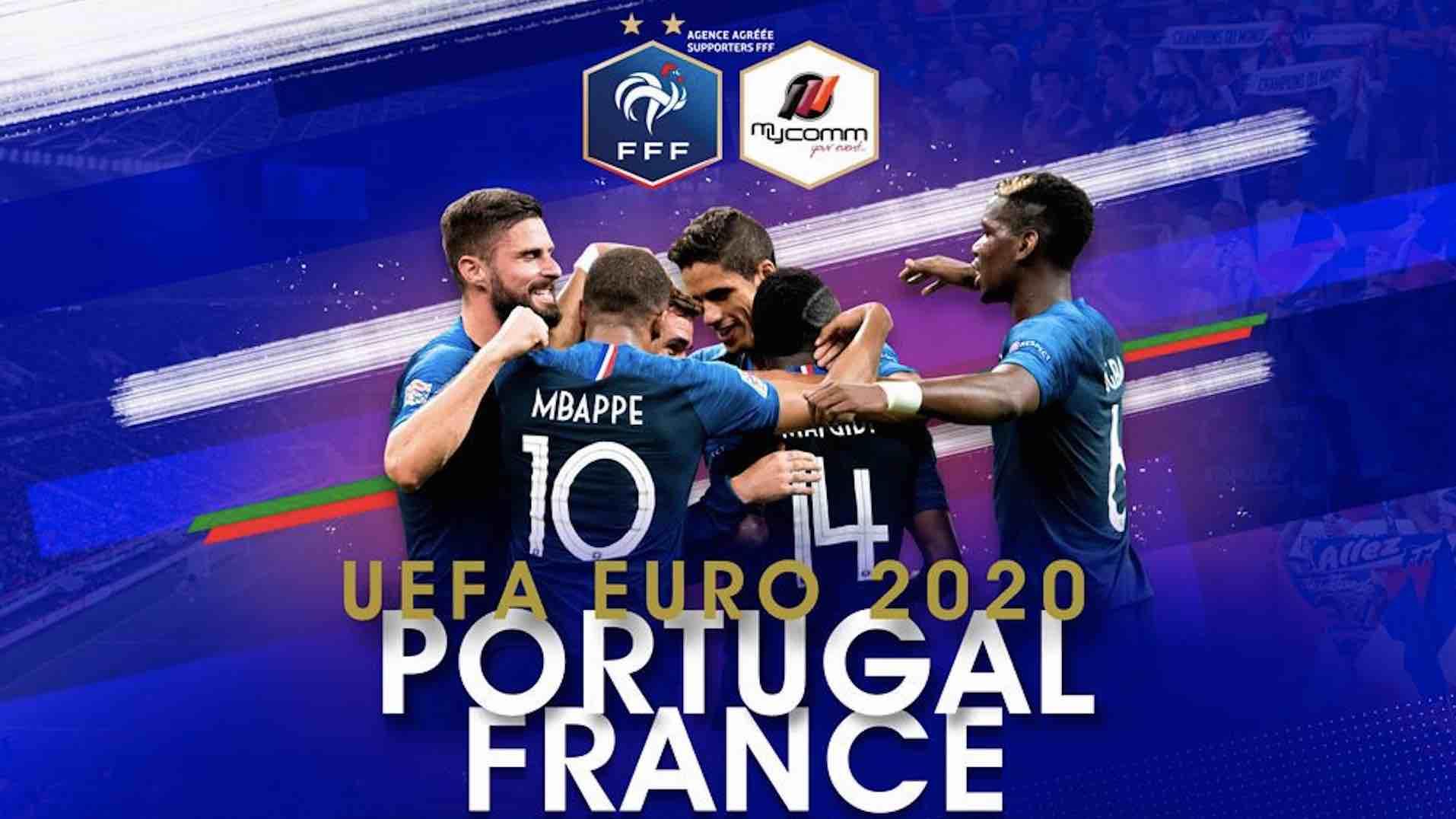 Portugal France - Euro 2020 - TF1 -