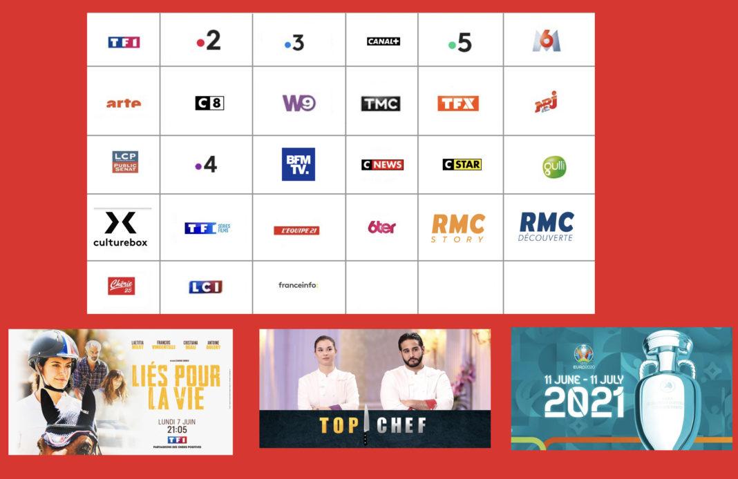 Programme TV - Sélection TV - Liés pour la vie - Top Chef 12 finale - Euro 2020 - foot -
