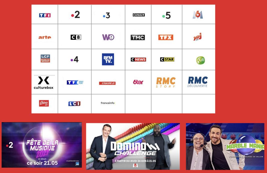 Programme TV - Sélection TV - La fête de la musique - Domino Challenge - Marble Mania l'incroyable course de billes -