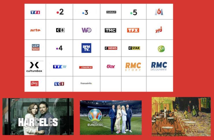 programme tv - sélection tv - harcelés - euro 2020 - le café des artistes -