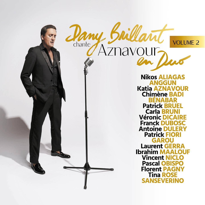 Dany Brillant - Charles Aznavour - duo - album duo -