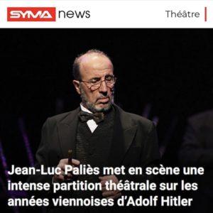Adolf - hitler - syma - histoire - théâtre - avignon - jean luc palies - florence yeremian - gopikian