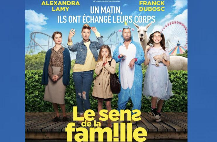 Le sens de la famille - comédie - Franck Dubosc - Alexandra Lamy -