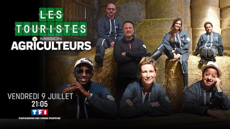 Les touristes mission agriculteurs - TF1 - Arthur -