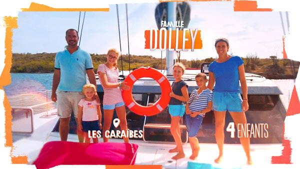 familles nombreuses la vie au soleil - TF1 - familles nombreuses - Famille Dolley -