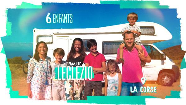 familles nombreuses la vie au soleil - TF1 - familles nombreuses - Famille Leclezio -