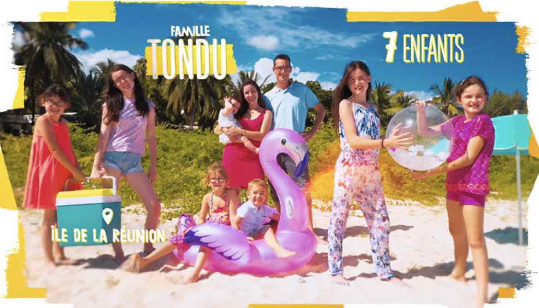 familles nombreuses la vie au soleil - TF1 - familles nombreuses - Famille Tondu -