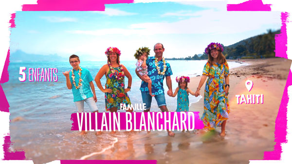 familles nombreuses la vie au soleil - TF1 - familles nombreuses - Famille Villain Blanchard -