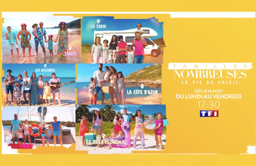 familles nombreuses la vie au soleil - TF1 - familles nombreuses -
