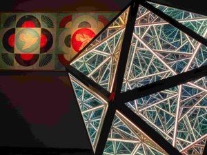 anthony james - art - hypnose - triangle - icosahedron - effets visuels - opera gallery - syma - yeremian - gopikian