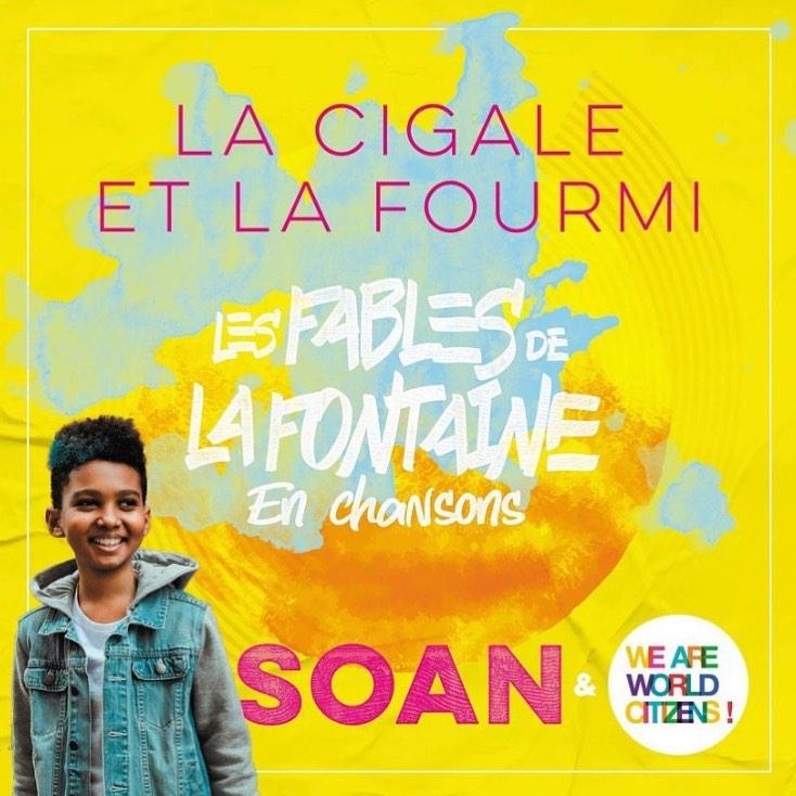 Soan - La cigale et la fourmi - the voice kids -