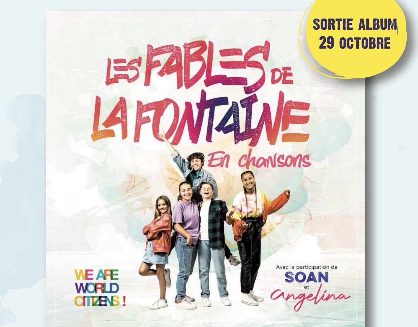 We are world citizens - fable de la fontaine -
