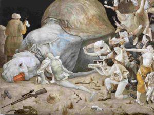 Xiao guo hui - chine - artiste - art paris - florence yeremian - gopikian - Christopher Cutts Galler