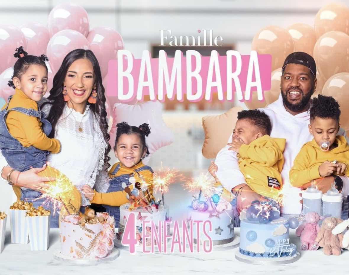 Familles nombreuses - Familles nombreuses la vie en XXL - Famille Bambara -