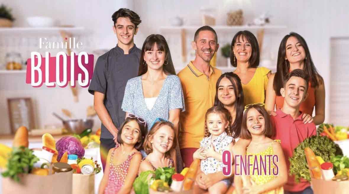 Familles nombreuses - Familles nombreuses la vie en XXL - Famille Blois -