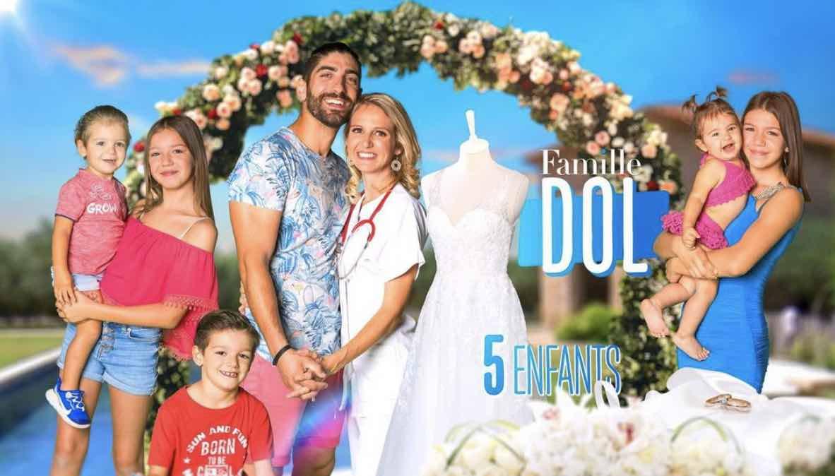 Familles nombreuses - Familles nombreuses la vie en XXL - Famille Dol -