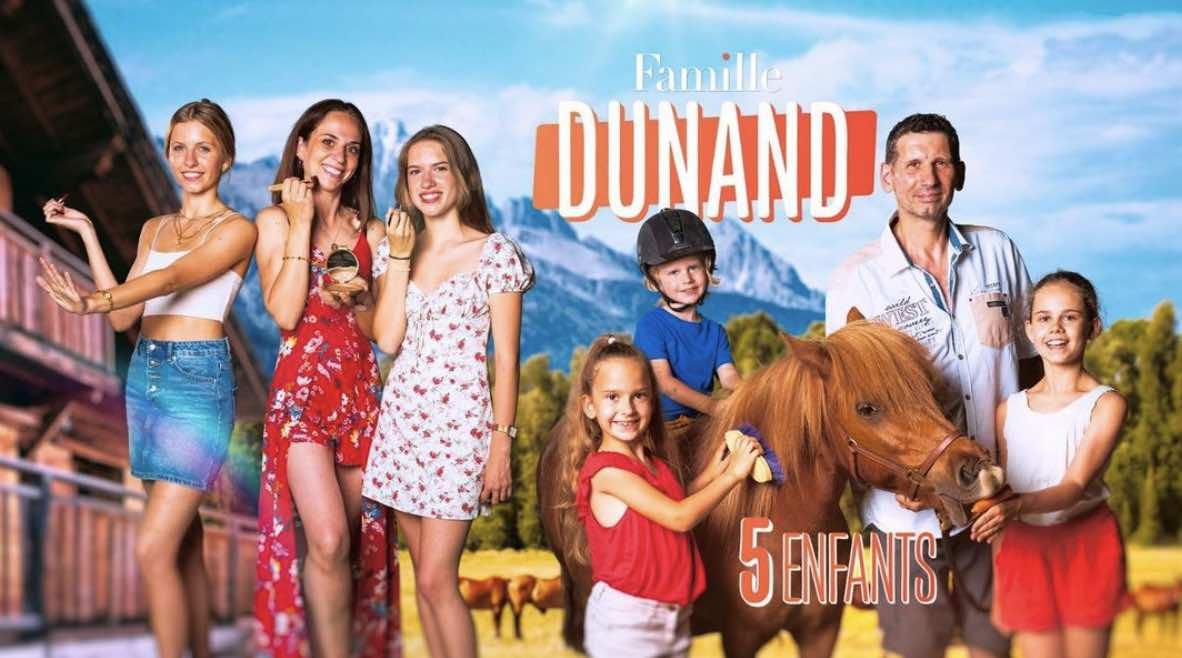 Familles nombreuses - Familles nombreuses la vie en XXL - Famille Dunand -