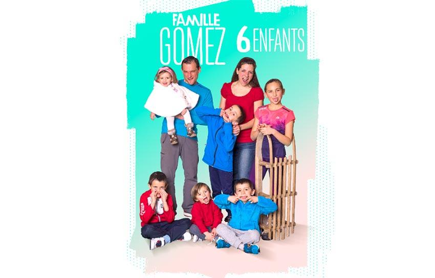 Familles nombreuses - Familles nombreuses la vie en XXL - Famille Gomez -