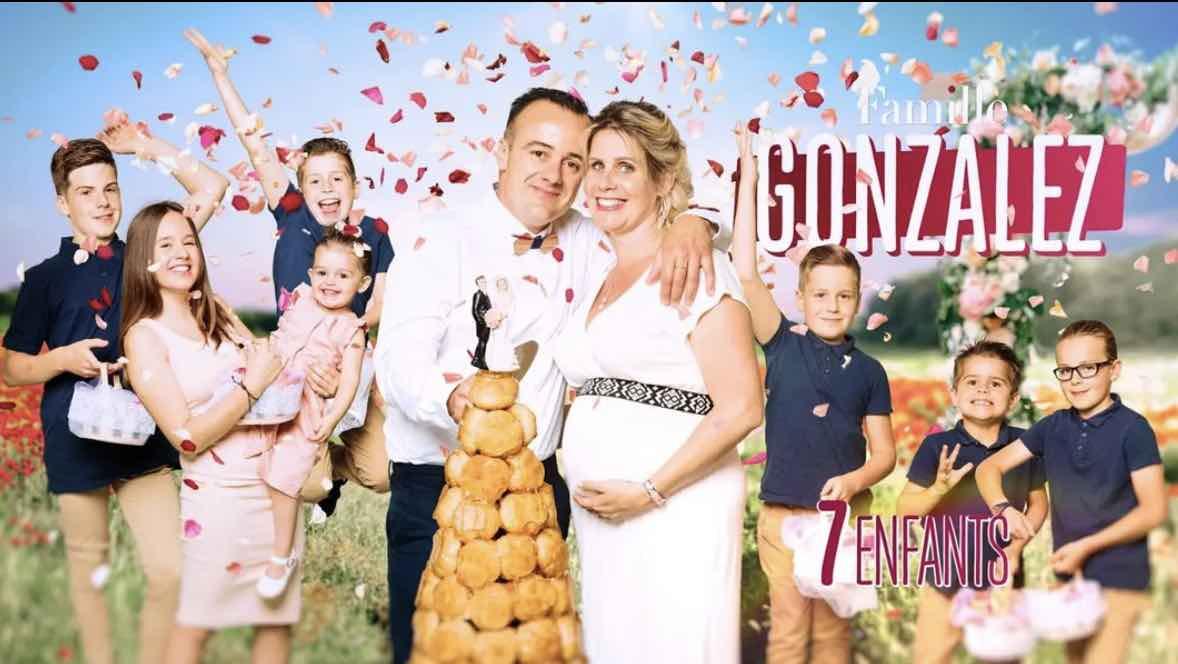 Familles nombreuses - Familles nombreuses la vie en XXL - Famille Gonzalez -
