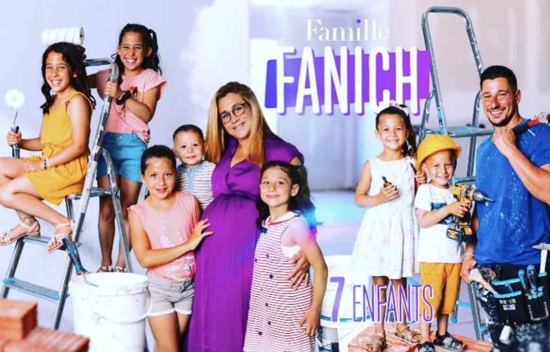 Familles nombreuses - Familles nombreuses la vie en XXL - Famille Fanich -