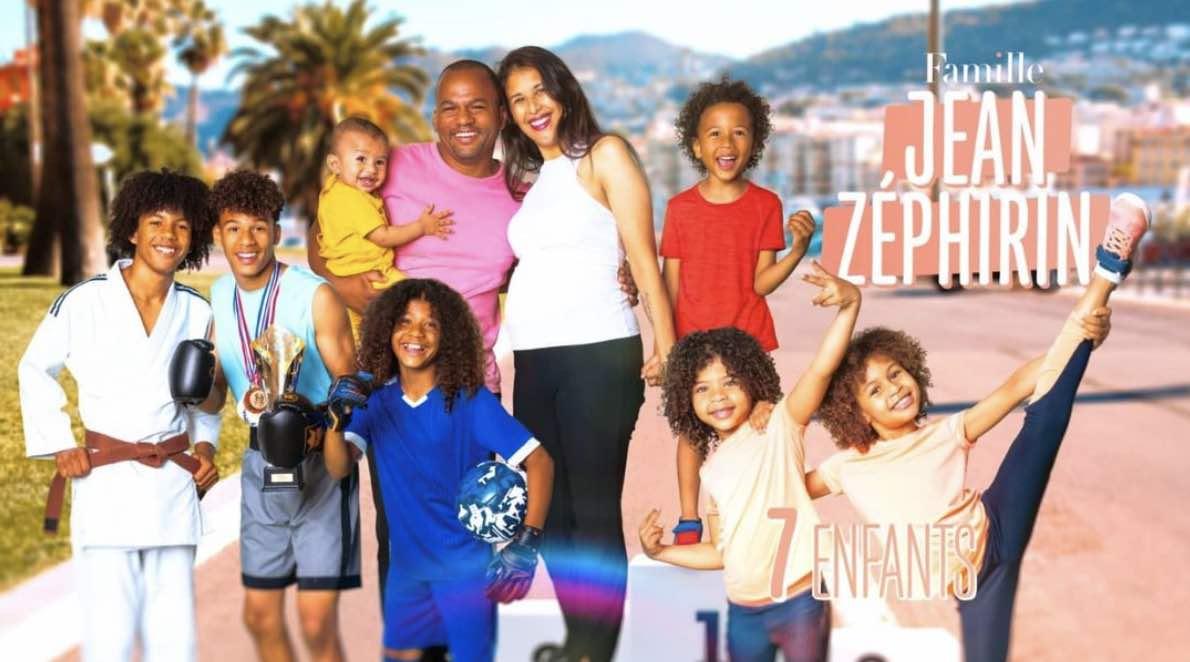 Familles nombreuses - Familles nombreuses la vie en XXL - Famille Jean zephirin -