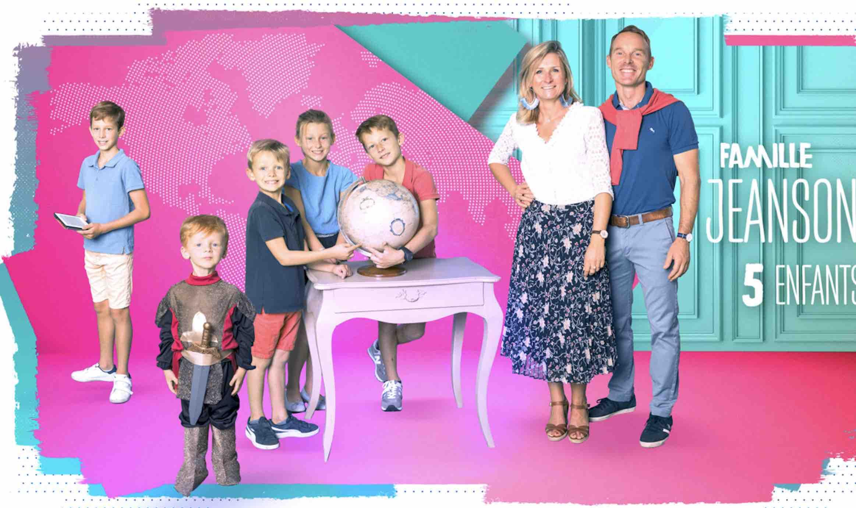 Familles nombreuses - Familles nombreuses la vie en XXL - Famille Jeanson -
