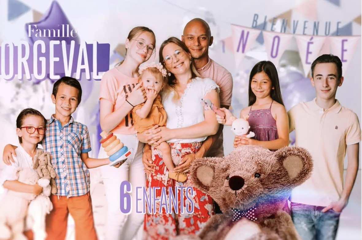 Familles nombreuses - Familles nombreuses la vie en XXL - Famille Orgeval -