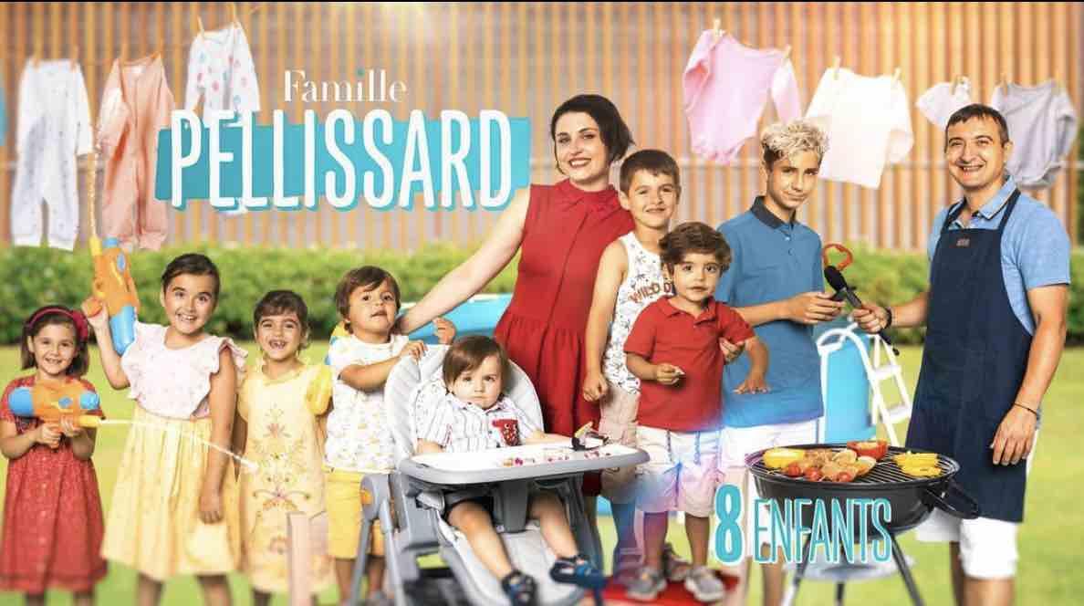 Familles nombreuses - Familles nombreuses la vie en XXL - Famille Pellissard -