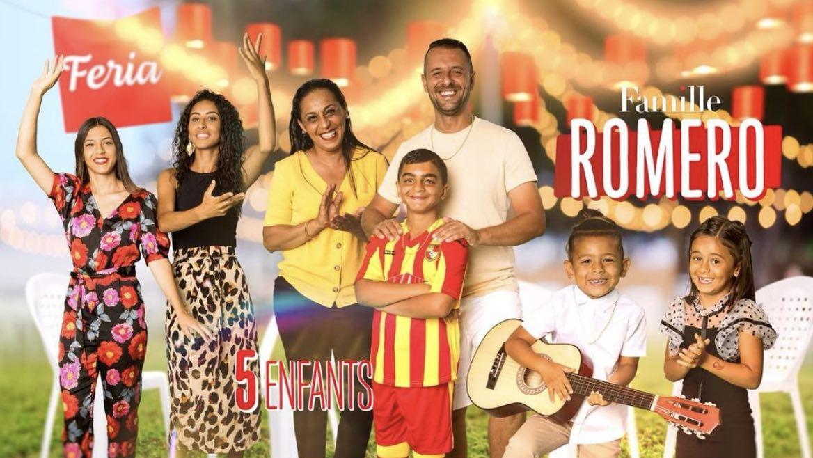 Familles nombreuses - Familles nombreuses la vie en XXL - Famille Romero -